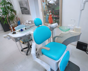 ファミリー歯科クリニックのチェア